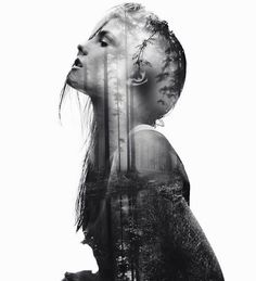 Double-exposure or its imitation is nothing new on creative scene, but anyway…