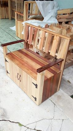 pallet bench ideas