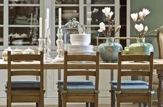 Flamant Room View 041 - Dining Chairs with Arnaud Table