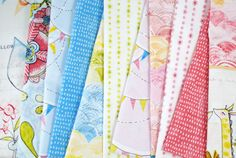 Hello World by Cori Dantini for Blend Fabrics - fabric bundle with 9 fat quarters and 2 panels - 11 pieces total