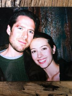 """Amy Acker Shares Some Old Photos From The """"Angel"""" Set"""