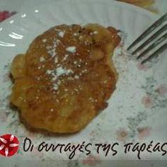 Τηγανίτες της θείας Μάρως συνταγή από spesy28 - Cookpad Pancakes, Pie, Chicken, Meat, Breakfast, Desserts, Food, Torte, Morning Coffee