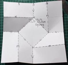 Card Making Templates, Card Making Tutorials, Card Making Techniques, Painting Techniques, Box Templates, Origami Templates, Origami Box, Origami Paper, Fancy Fold Cards