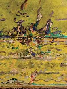 Alessandro Savelli, Paesaggio Giallo, tecnica mista su tela, 150x100cm, 1991 Bugatti, Past, Opera, History, Painting, Museum, Artists, Opera House, Paintings
