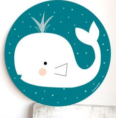 cuadro infantil ballena moby dick Painting For Kids, Diy Painting, Under The Sea Crafts, Nursery Name, Floral Logo, Baby Boy Fashion, Hobbies And Crafts, Baby Wearing, Baby Boy Shower