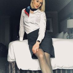 Flight attendant style