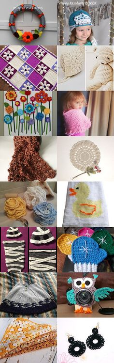 All things Crochet by Megan Yates on Etsy--Pinned with TreasuryPin.com