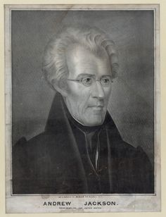Andrew Jackson, President of the United States (1829-1837)  (Library of Congress, Prints and Photographs Division, Washington, D.C.)