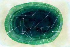 aurora borealis constellations print