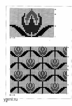 @nika Fair Isle Knitting Patterns, Knitting Charts, Crochet Patterns, Filet Crochet, Knit Crochet, Hama Beads, Pixel Art, Cross Stitch, Tapestry