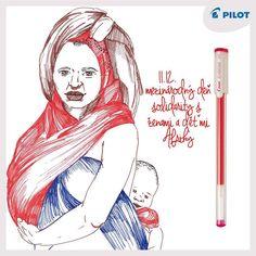 11. 12. Spomeňte si v rámci medzinárodného dňa solidarity práve na africké ženy! #happywriting #pilotpen