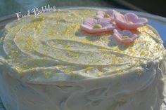 Banana Applesauce Birthday Cake with Banana Cream Cheese Frosting