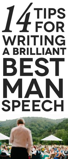 The Dos and Don'ts of the Best Man Speech || Please do not discuss sex or drinking. Please.