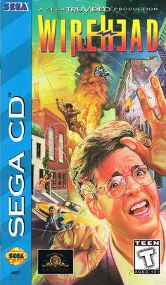 Wirehead (1995) Sega CD Sega Cd, Video Game Collection, Sega Genesis, Monkeys, Noodle, Clutches, Remote, Brain, Mad