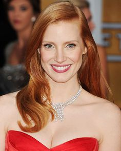 Look of the Day photo | Jessica Chastain's Soft Curls