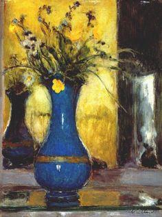 peira:    Edouard Vuillard: The Blue Vase (c.1930)
