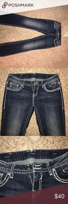 Vigoss New York Slim Boot jeans 11/12 length 33 Great condition- only worn a couple of times Vigoss Jeans Boot Cut