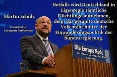 Das hat man ja bei der letzten Wahl gesehen, wie das Deutsche Volk dahinter steht...denk nach...!