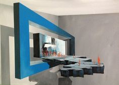 "Saatchi Online Artist Eka Peradze; Painting, ""road. 3D Painting.  50x70cm. Recently Sold"" #art"