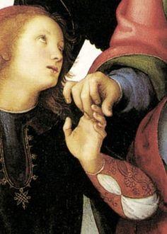 PERUGINO Pietro - Pietro Vannucci - Italian (Perugia 1446 - 1523 Umbrië) ~detail.