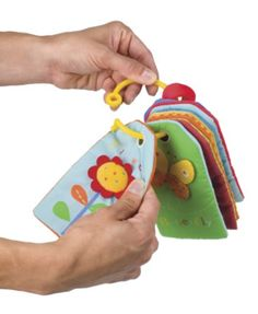 Touch-Me Textured Baby Flash Cards/Activity Toy from One Step Ahead