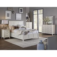 Enola Panel Customizable Bedroom Set