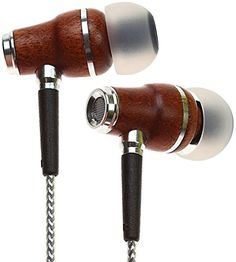 Symphonized NRG 2.0 Premium Genuine Wood In-ear Noise-isolating Headphones|Earbuds|Earphones with Innovative Shield Technology Cable and Mic (Silver) Symphonized http://www.amazon.com/dp/B00WXN73RU/ref=cm_sw_r_pi_dp_991wwb03Z8Y05