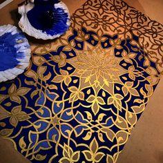 art of islamic pattern london Motifs Islamiques, Islamic Motifs, Islamic Art Pattern, Pattern Art, Pattern Painting, Islamic Tiles, Arabic Calligraphy Art, Arabic Art, Calligraphy Alphabet