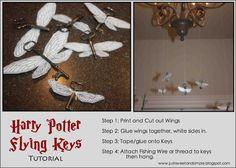 Harry Potter Party: Flying Key Tutorial