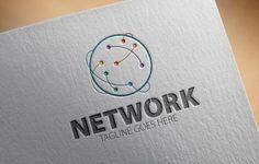 Network Logo by samedia on Creative Market