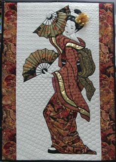 this geisha quilt is amazing! I want this