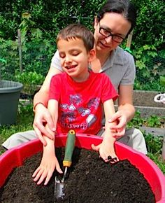 Gardening is a very hands-on endeavor and children with visual impairments need the opportunity to get their hands into as many different real-world activities as possible, so how about starting a gardening project?