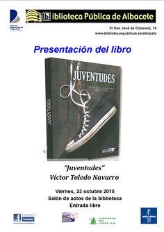 """#actividadesbiblioteca Presentación del libro """"Juventudes"""", de Víctor Toledo."""