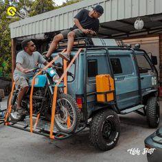 Hardcore off road Suzuki Carry van Vw T3 Westfalia, Kombi Motorhome, Campervan, Vw Camper, Offroad, T3 Bus, Volkswagen, Suzuki Carry, Expedition Vehicle