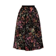 Emporio Armani Jacquard Full Skirt (€530) ❤ liked on Polyvore featuring skirts, pink, multi color skirt, print skirt, quilted skirt, full skirt and jacquard skirts
