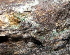 Specularite Hematite Malachite Barium Gold Silver ore