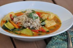 Fish Curry with Garden Vegetables @FoodBlogs