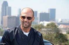 Jason Statham at the 'Furious 7' Press Conference at Dodger Stadium on March 23, 2015 in Los Angeles, California.