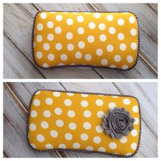 Mustard Yellow Wipes Case
