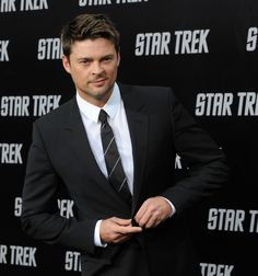 Another nice photo of Karl Urban to make up for the fact that Nov. 17, which is when his new show Almost Human is supposed to premier, is never, ever going to get here. That's my theory, anyway.