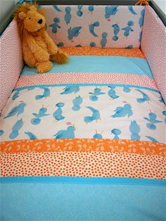 Making Your Own Crib Bedding