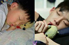 ikon bobby peaceful sleeping, baby Bobby cutest ever K Pop, Bobby Kpop, Kim Hanbin Ikon, Jay Song, Hip Hop, Ill Always Love You, Cute Asian Guys, Kim Ji Won, Greek Gods
