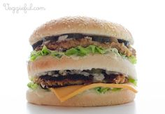 Veggieful: Vegan Big Mac Recipe  Being Vegan seems to have become more popular within the last couple years. This vegan recipe is to take the place of McDonalds Big mac burger, but does not contain any animal products. Kirstie E