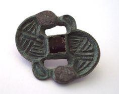Anglo-Saxon bird brooch, Kilham, East Yorkshire. 7thC.