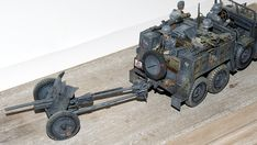 """Deutsche Krupp Protze """"Kfz.69"""" Science Fiction, Armored Truck, Armored Vehicles, Cannon, Tanks, Dreaming Of You, Action Figures, Monster Trucks, German"""