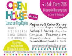 Open House Lomas de Angelópolis edición especial #OUTLET está en búsqueda de marcas participantes!! Necesitamos que envíes 5 fotos y descripción de tu marca al correo de openhouseangelopolis@gmail.com