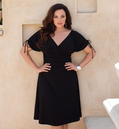 Nice black dress that even I could wear!