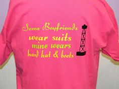 Some Boyfriends Wear Suits Mine Wears Hard Hats by treasures638, $16.50