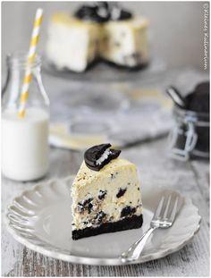 {Rezension} Cheesecakes, Pies & Tartes von Cynthia Barcomi - Oreo Cheesecake - Kleines Kulinarium