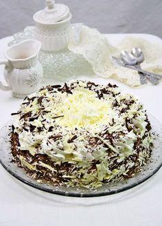 Tort cu ciocolata alba si mascarpone | gabriela cuisine - recipes